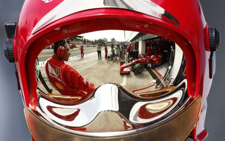 Motorsports: FIA Formula One World Championship 2014, Grand Prix of Italy, #14 Fernando Alonso (ESP, Scuderia Ferrari),